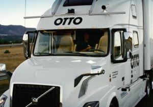 Camion autonome Uber